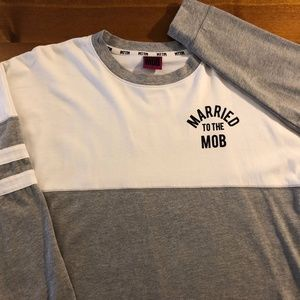 Married to the Mob Varsity Long Sleeve